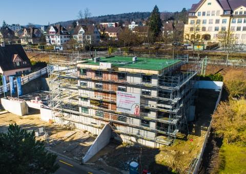 """Aktuelle Impressionen der Wohnüberbauung """"zum Rosenpark"""" Neuhausen - www.zum-rosenpark.ch"""